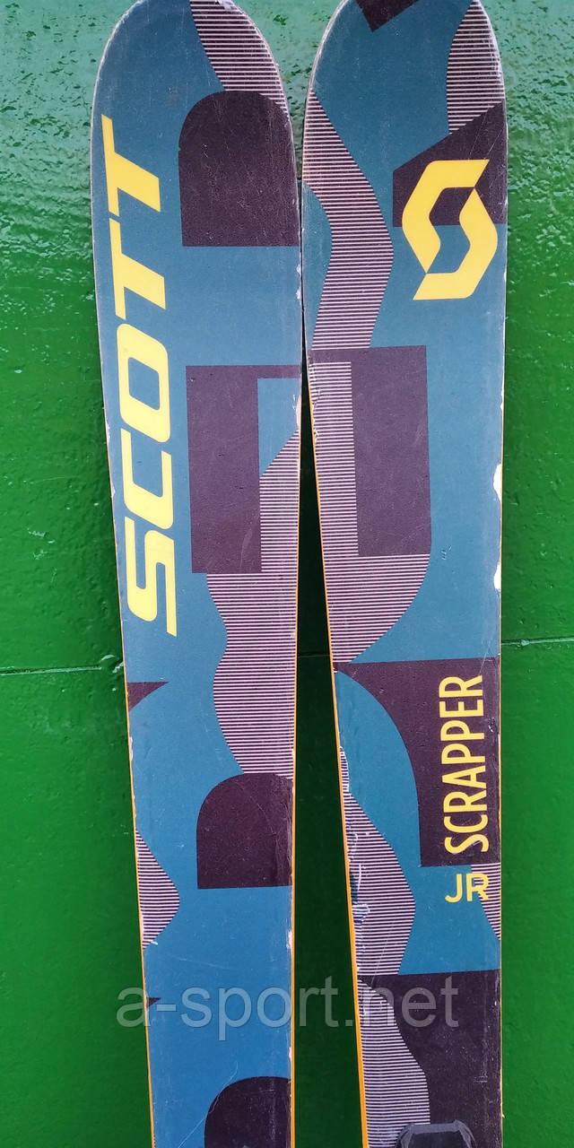 Гірські лижі бу Scott Jr Scrapper 172 см фрірайд 2017р