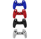 Силіконовий чохол Bevigac для геймпада джойстика DualSense PS5, фото 8