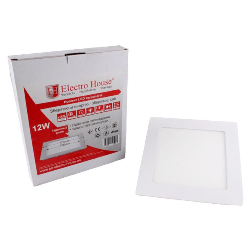 LED панель квадратна 12W 170х170мм