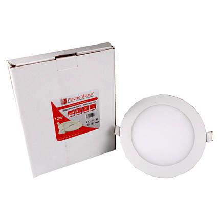 LED панель круглая 12W 4100К 1080Lm Ø 170мм, фото 2