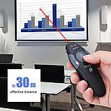 Презентер модель H801, usb лазерна указка, клікер, пульт для презентацій, фото 7