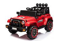 """Детский электромобиль Tilly """"Джип Range Rover"""" музыкальный T-7833 EVA RED с пультом управления"""