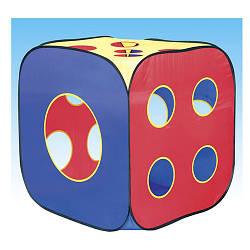Палатка MR 0379  куб, 75-75-82см, 1вход, 12окон, в сумке, 40-40-4см