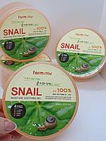 Гель с улиточным муцином FarmStay Moisture Soothing Gel Snail 300ml.
