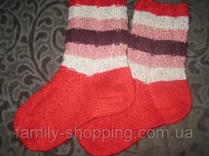 Шкарпетки вовняні ручної роботи, р. 35-37
