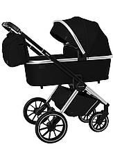 Универсальная коляска 2 в 1 Carrello Optima CRL-6503 Leather Black в льне