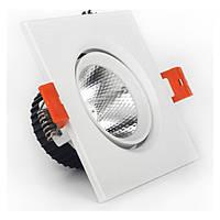 LED світильник стельовий білий 5W кут повороту 45° 4100К, фото 1