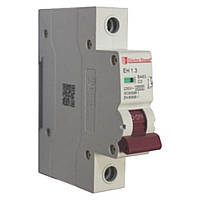 Автоматический выключатель 1P 3A 4,5kA 230-400V IP20, фото 1