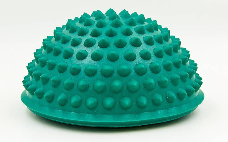 Масажна півсфера балансувальна (масажер для ніг, стоп) (діаметр - 15 см, висота 7,5 см) - 1 шт,