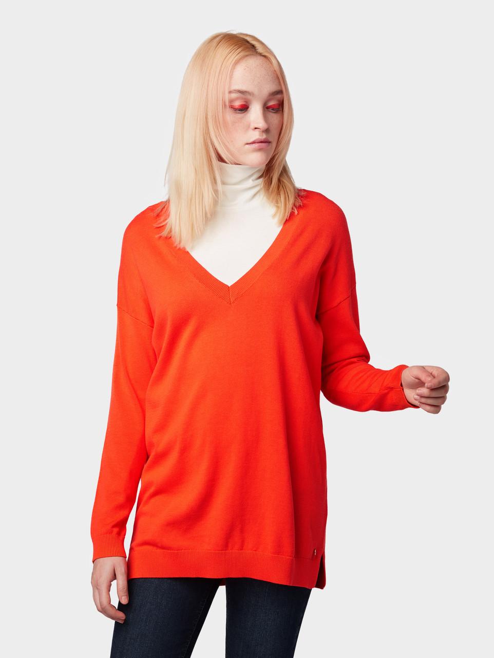 Пуловер Tom Tailor 1008568 XS Красный