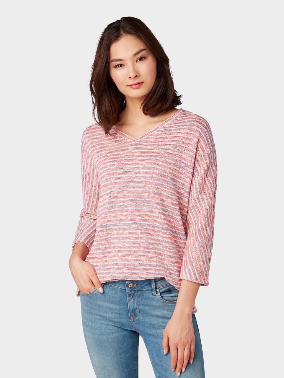Пуловер Tom Tailor 1009910 XXL Розовый