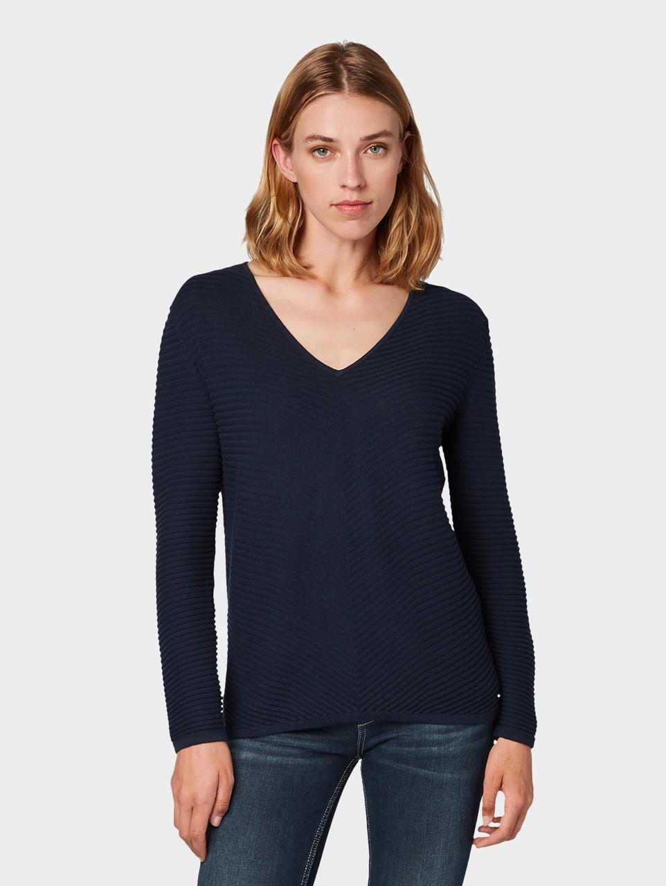 Пуловер Tom Tailor 1013932 M Синий