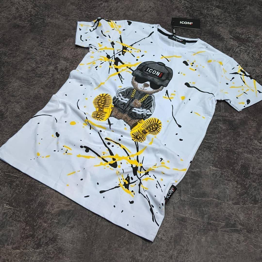 Мужская футболка Icon CK1634 белая