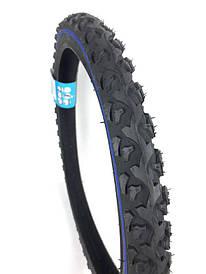"""Покрышка велосипедная Deli 20*1.90"""" S-186 Blue srtip шип Индонезия"""