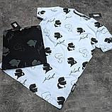 Мужская футболка Karl CK1638 черная, фото 2