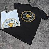 Мужская футболка Versace CK1642 белая, фото 2