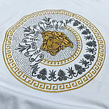 Мужская футболка Versace CK1642 белая, фото 3