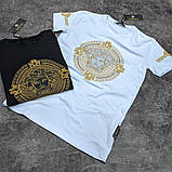Мужская футболка Versace CK1645 черная, фото 3