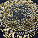 Мужская футболка Versace CK1645 черная, фото 2