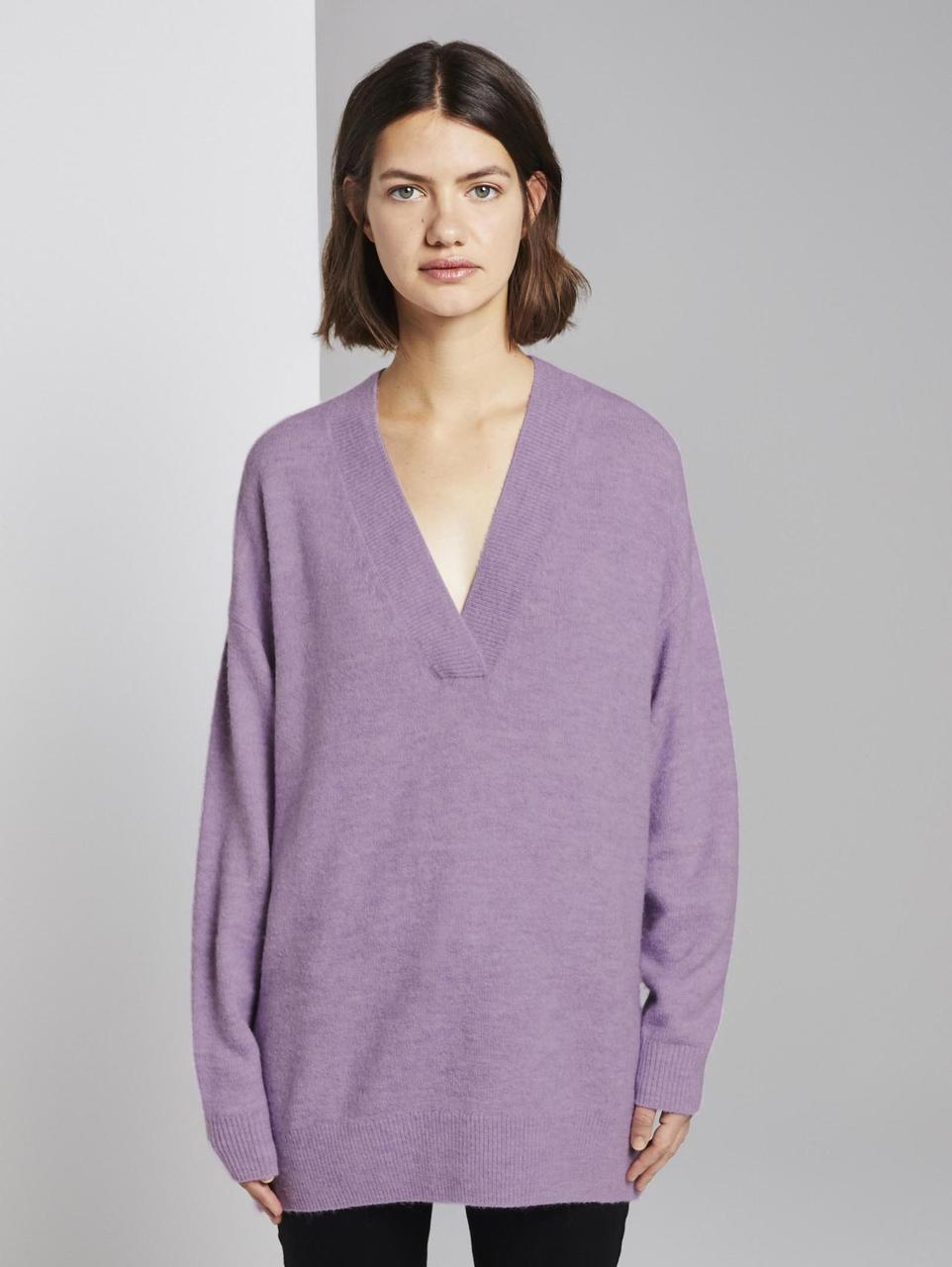 Пуловер Tom Tailor 1015605 S Фиолетовый