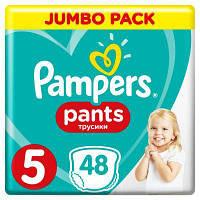 Подгузник Pampers трусики Pants Junior Размер 5 (12-17 кг), 48 шт (4015400672906)