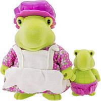 Набор фигурок Lil Woodzeez Черепахи мама и малыш 6134M, КОД: 1915990