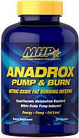 МХП Анадрокс комплексный препарат MHP Anadrox Pump Burn 224 капсулы