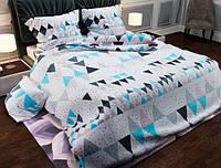 Семейный набор хлопкового постельного белья из Бязи Gold 156386 Черешенка BC4G156386, КОД: 1891516