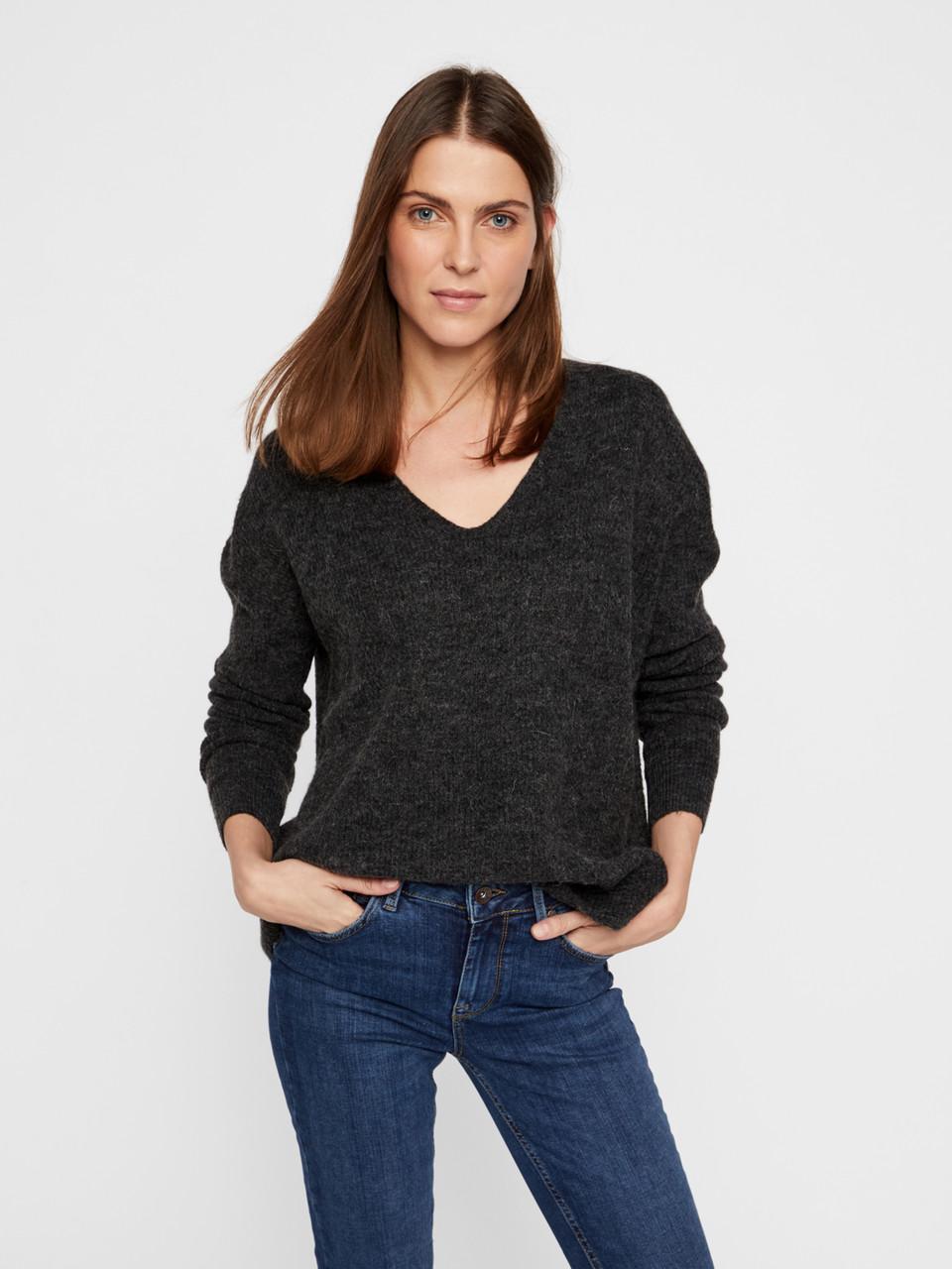 Пуловер Vero Moda 10215456 L Серый