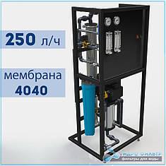 Промышленная установка обратного осмоса до 250 литров/час Stanko Watertech