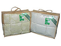 Детское одеяло пуховое Экопух 50/50 110х140 561г кремовое, фото 1