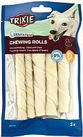 31397 Trixie Denta Fun Chewing Rolls with Duck палочка с уткой, 15шт/12см