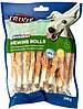 31378 Trixie Denta Fun Rolls with Chicken палочки для зубов, 30шт/12см