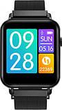Смарт-часы Bakeey Y6 Pro black, фото 3