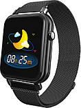 Смарт-часы Bakeey Y6 Pro black, фото 4