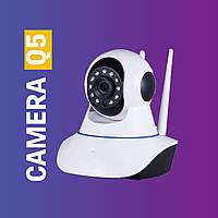 Камера видеонаблюдения Q5 Wifi беспроводная, с функцией записи и датчиком движения