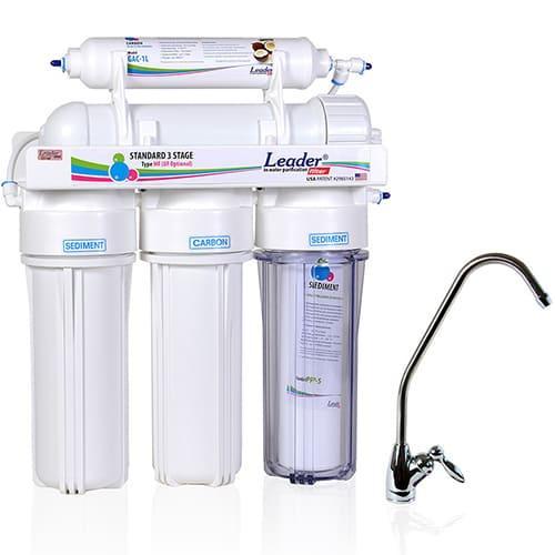 Фото питьевой фильтра ультрафильтрации под мойку