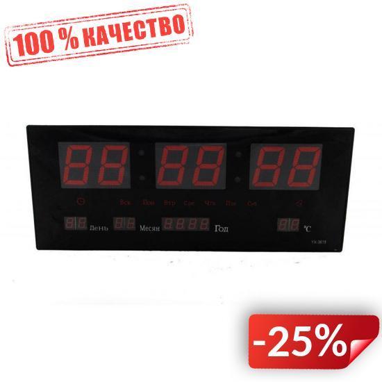 Электронные настенные часы VST 3615 Черный (300064)