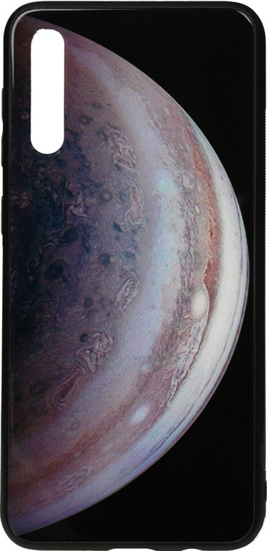 Чехол-накладка TOTO Print Glass Space Case для Samsung Galaxy A30s/A50/A50s Grey (F_96414)