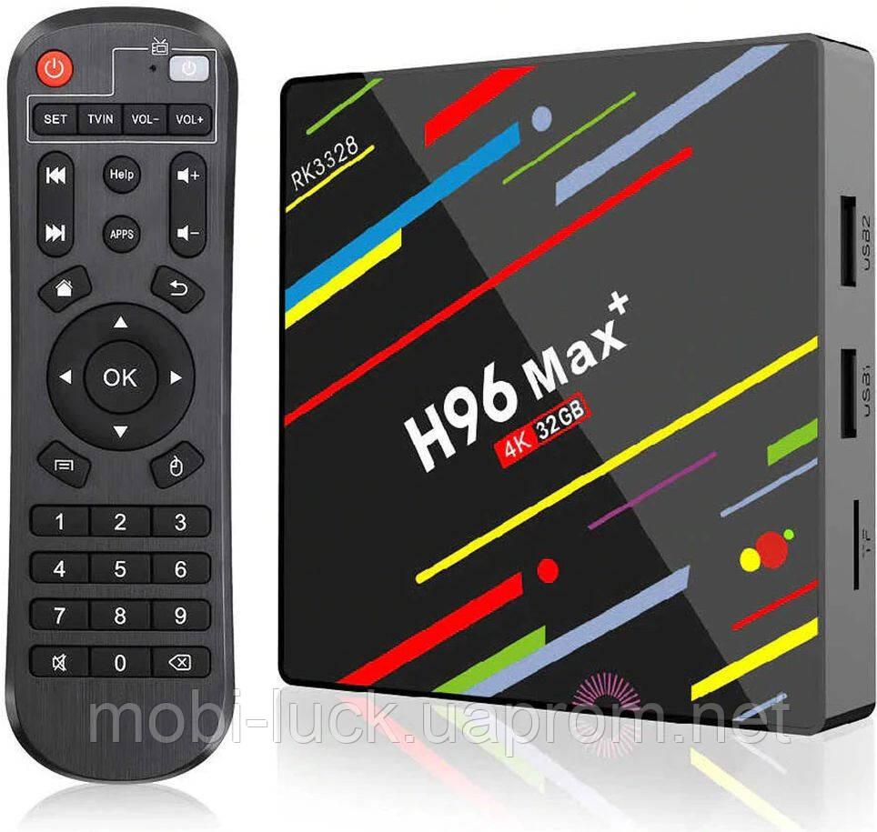 Смарт ТВ H96 Max Plus 4/32Gb black