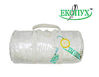 Одеяло касетное пуховое Экопух 100/0 140х205 1300г (крем), фото 1