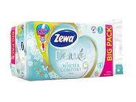Zewa Deluxe Winter Comfort бумага туалетная 3-х слойная, 16 шт.