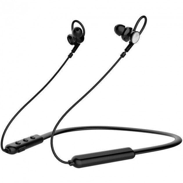 Наушники беcпроводные GORSUN GS-E12 Bluetooth | Вакуумные для спорта на магнитах