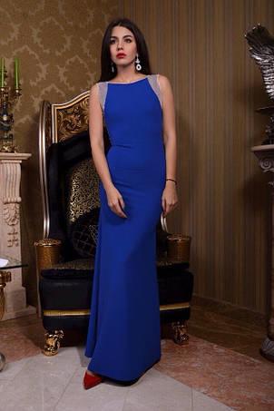 Платье в пол без рукавов пайетка , фото 2