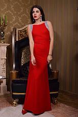 Платье в пол без рукавов пайетка , фото 3