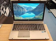 "HP EliteBook 8570P / 15.6"" (1366x768) TN / Intel Core i5-3340M (2 (4) ядра по 2.7 - 3.4 GHz) / 8 GB DDR3 / 120, фото 2"