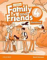 Рабочая тетрадь Family and Friends 2nd Edition 4 Workbook