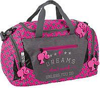 Жіноча спортивна сумка для фітнесу Paso 27L, BAC-019, фото 1