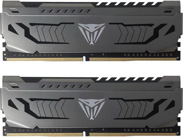 Модуль памяти DDR4 32GB (2x16GB) 3200 Patriot Viper Steel C16-16-16-36 набор из 2-х модулей (PVS432G320C6K)