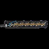Фильтр-удлинитель сетевой LogicPower LP-X6, 6 розеток, цвет-черный, 3,0 m, фото 4